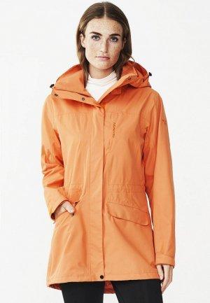 Ветровка Tenson. Цвет: оранжевый