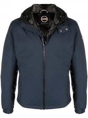 Куртка с капюшоном Colmar. Цвет: синий
