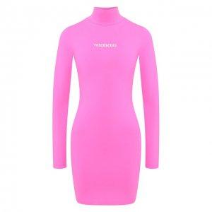 Платье Vetements. Цвет: розовый