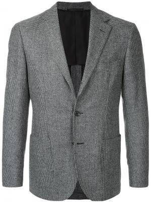 Пиджак кроя слим United Arrows. Цвет: серый