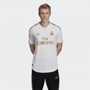 Домашняя игровая футболка Реал Мадрид Performance adidas. Цвет: белый