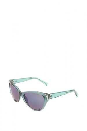 Очки солнцезащитные с линзами Guess. Цвет: в61 bl-9f золотистый