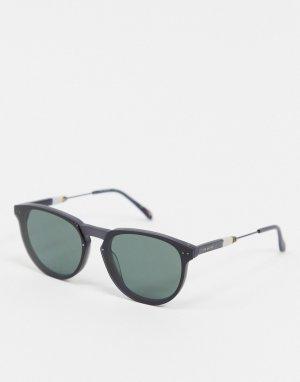 Серые круглые солнцезащитные очки -Серый Ted Baker