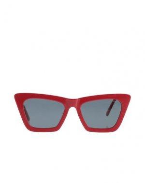Солнечные очки KOMONO. Цвет: красный