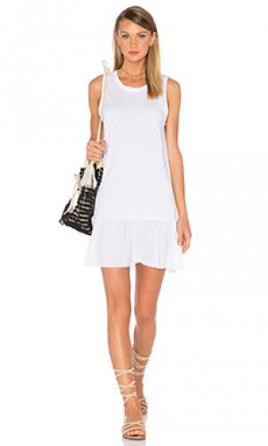 Платье-майка ariel Nation LTD. Цвет: белый