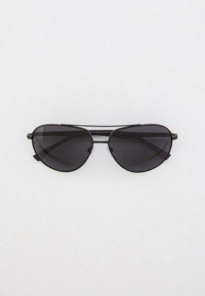 Очки солнцезащитные Emporio Armani EA2096 300187. Цвет: черный
