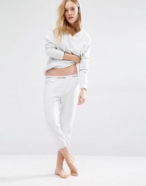 Пижамные капри Connection Calvin Klein. Цвет: синий
