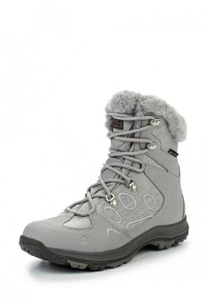 Ботинки Jack Wolfskin THUNDER BAY TEXAPORE MID W. Цвет: серый