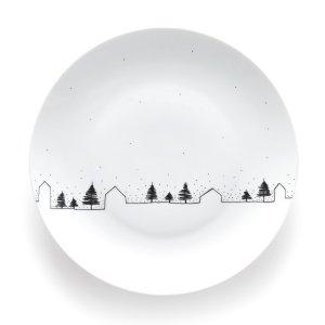 Тарелки La Redoute. Цвет: белый