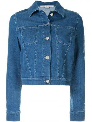 Джинсовая куртка с нашивкой Stella McCartney