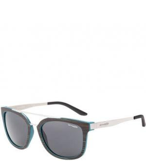 Солнцезащитные очки c серыми линзами Juncture Arnette. Цвет: коричневый
