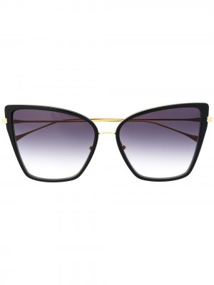 Солнцезащитные очки Sunbird в массивной оправе Dita Eyewear. Цвет: черный