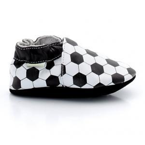 Ботиночки Goal ROBEEZ. Цвет: черный + белый