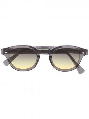 Солнцезащитные очки Bronte в квадратной оправе Epos. Цвет: серый