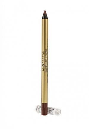Карандаш для губ Max Factor Colour Elixir Lip Liner, 16 Brown N Bold,  1,2 гр. Цвет: коричневый