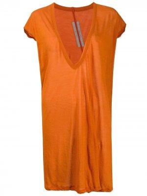 Топ Dylan Rick Owens. Цвет: оранжевый