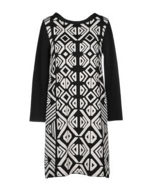 Короткое платье ALESSANDRO. Цвет: черный