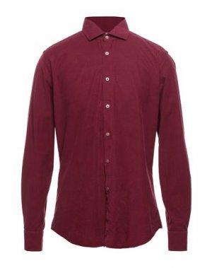 Pубашка CELLINI. Цвет: красно-коричневый