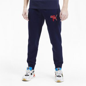 Штаны ATHLETICS Pants PUMA. Цвет: синий