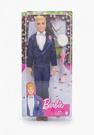 Кукла Barbie Кен Жених в свадебном костюме, 30 см. Цвет: разноцветный