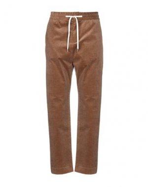 Повседневные брюки BAND OF OUTSIDERS. Цвет: коричневый