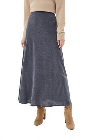 Юбка макси Alina Assi. Цвет: серый