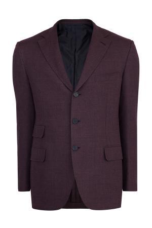 Пиджак BRIONI. Цвет: бордовый