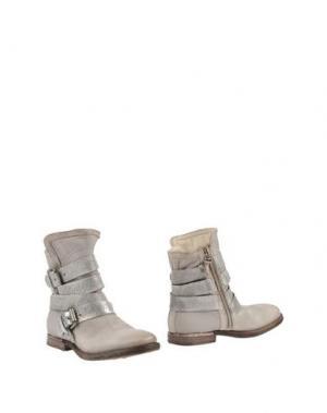 Полусапоги и высокие ботинки AIR STEP. Цвет: серый