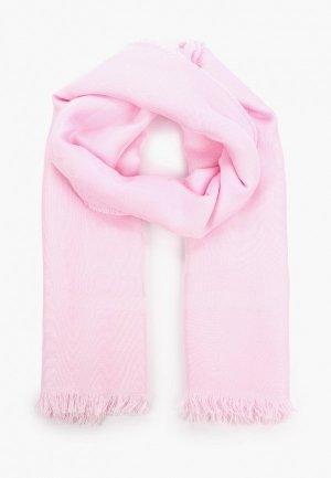 Платок Patrizia Pepe. Цвет: розовый