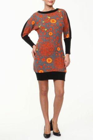 Платье GINGER+SOUL. Цвет: оранжевый
