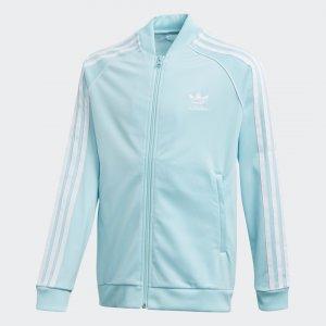 Олимпийка SST Originals adidas. Цвет: белый