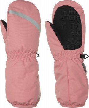 Варежки для девочек , размер 6 Outventure. Цвет: красный