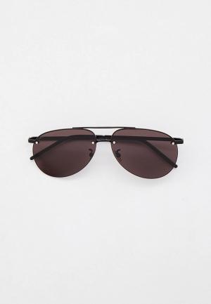 Очки солнцезащитные Saint Laurent SL 416. Цвет: черный