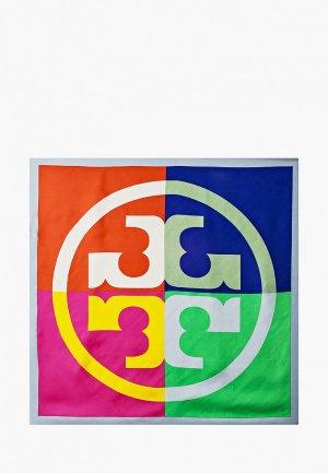 Платок Tory Burch. Цвет: разноцветный