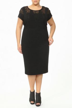 Платье Зар-Стиль. Цвет: черный