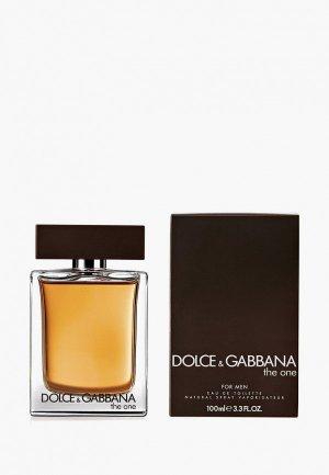 Парфюмерная вода Dolce&Gabbana The One For Men, 100 мл. Цвет: коричневый