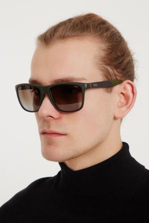Солнцезащитные очки Gucci. Цвет: multicolor