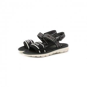 Босоножки Dolce & Gabbana. Цвет: чёрный