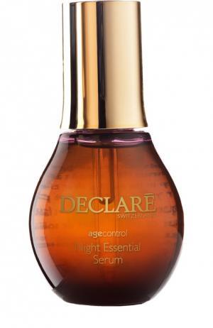 Ночная восстанавливающая сыворотка Night Repair Essential Serum Declare. Цвет: бесцветный