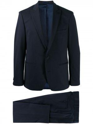 Костюм Contemporary с однобортным пиджаком Karl Lagerfeld. Цвет: синий