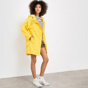 Куртка-ветровка R essentiel. Цвет: ярко-желтый