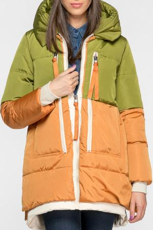 Куртка Joins. Цвет: коричневый