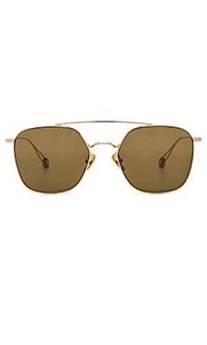 Солнцезащитные очки concorde Ahlem. Цвет: металлический золотой