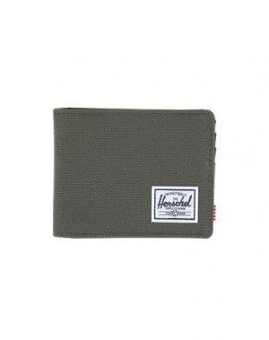 Бумажник HERSCHEL SUPPLY CO.. Цвет: зеленый-милитари