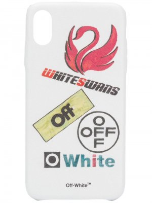Чехол для iPhone XS MAX с принтом Off-White