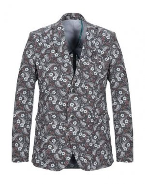 Пиджак BERNA. Цвет: серый