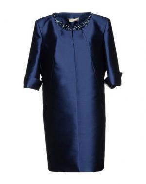 Легкое пальто AMONREE. Цвет: синий