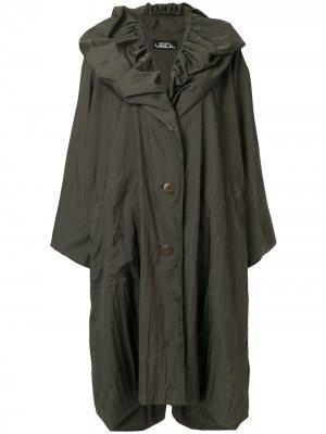 Куртка-дождевик оверсайз Issey Miyake Pre-Owned. Цвет: зеленый