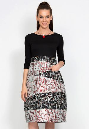 Платье D.VA. Цвет: черный