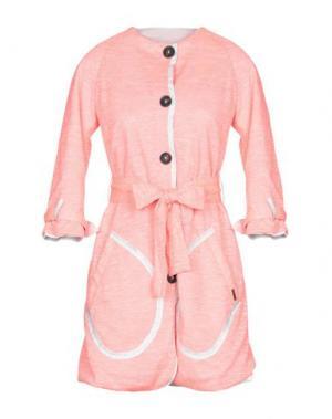 Легкое пальто BARK. Цвет: фуксия